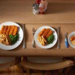 Как определять размер порции еды